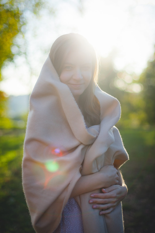 Denisa Denisovy Sady Portret Zapad Slunce | Portréty | Roman Kozák