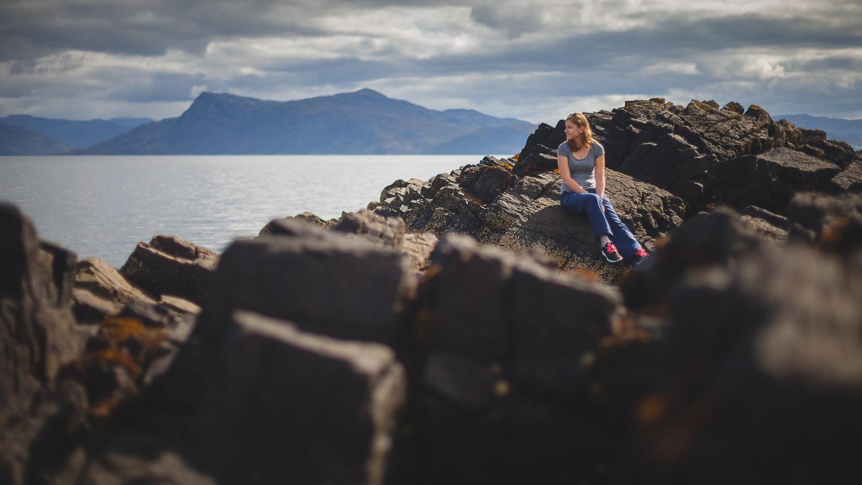 Denisa Skotsko Isle Of Skye Portret More | Portréty | Roman Kozák