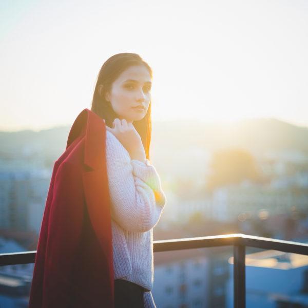 Roman Kozák | fotograf | Portréty | Denisovy Sady Misa Portret Zapad Slunce