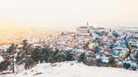 Roman Kozák | fotograf | Mikulov | Mikulov Svaty Kopecek Zamek Palava Zapad Slunce